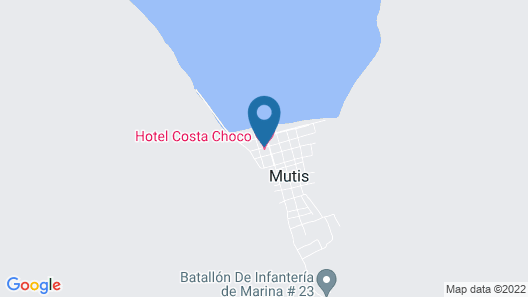 Rio Mar Bahía Solano Choco Colombia Map