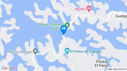 Hotel Los Recuerdos Map