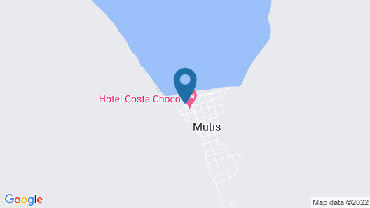 Hotel Costa Chocó Map