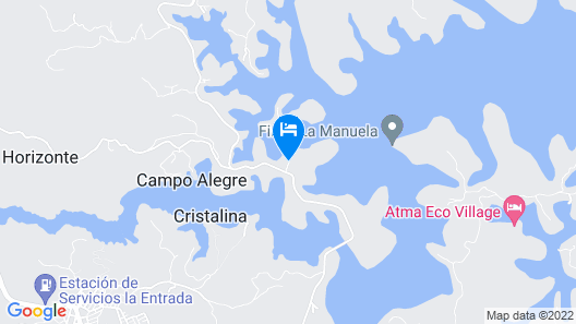 Joinn Hotel Guatape Map
