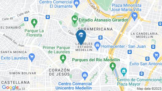 Hotel Dorado La 70 Map