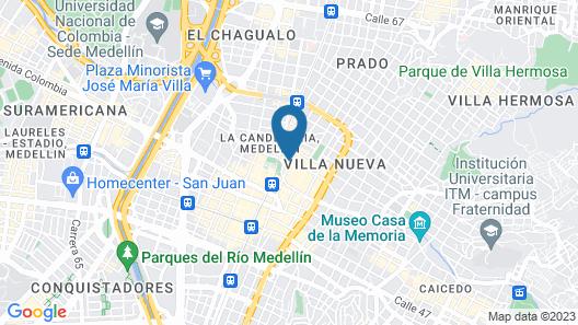 Hotel Nutibara Map