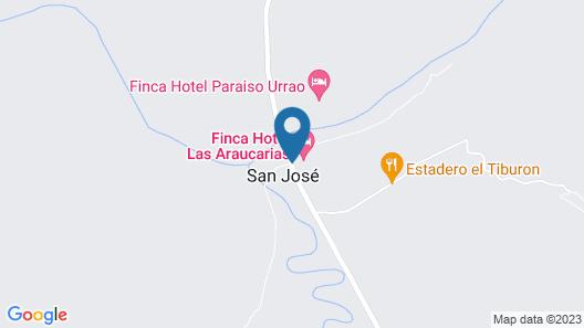 Finca Hotel Las Araucarias Map
