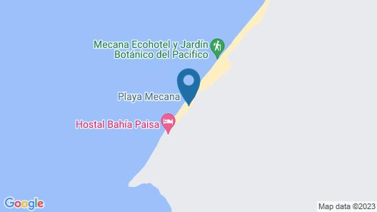 Majagua Magia del Pacífico Map