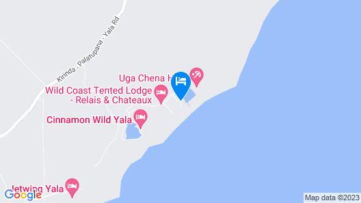 Chena Huts By Uga Escapes Map