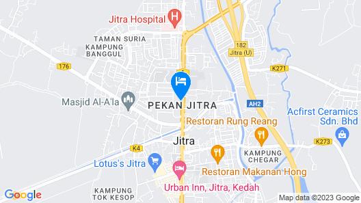 OYO Capital O 89658 Bustani Hotel Map
