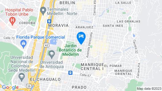 Casa La Estrella By Nomad Guru Map