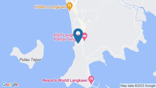 Dash Resort Langkawi Map