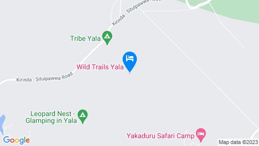 Wild Trails Yala Eco Camp Map