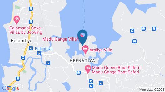 Maduganga Villa Amazing Island Resort Map