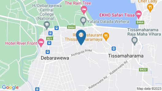 Julia Safari Inn Map