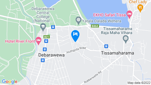 La Safari Inn Tissamaharama Map