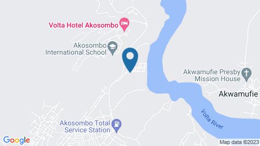 Afrikiko Riverfront Resort Map