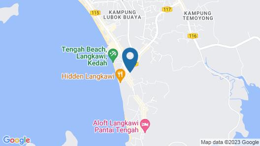 Aseania Resort Langkawi Map