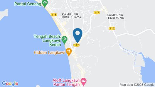 BONOBO Hostel Langkawi Map