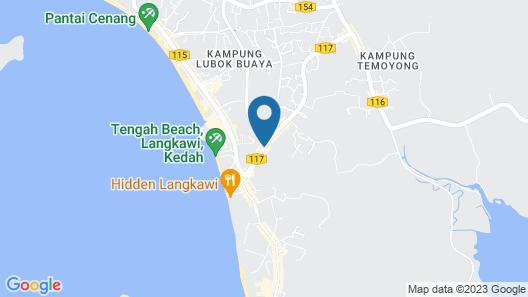 favehotel Cenang Beach - Langkawi Map