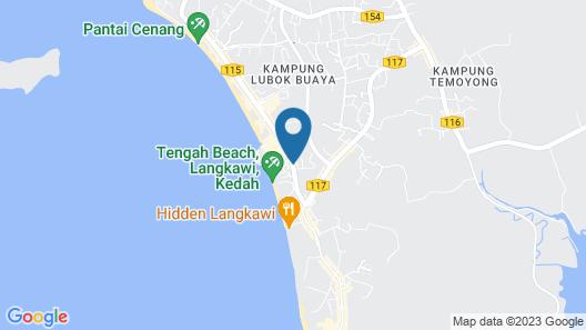 Bed Attitude Hostel Cenang - Hostel Map