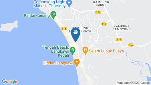 S Family Hostel Cenang - Adults Only Map
