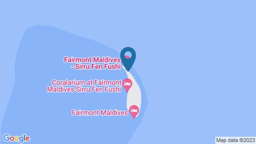 Fairmont Maldives Sirru Fen Fushi Map