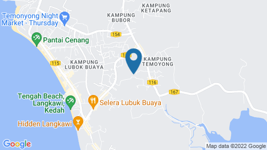 Aulia Homestay Map
