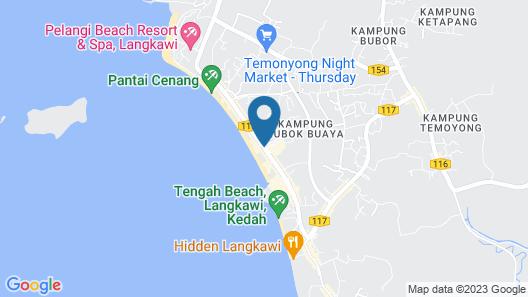 Nadias Hotel Cenang Langkawi Map