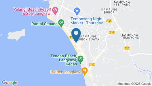ADYA HOTEL CHENANG Map