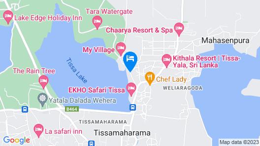 Lake Wind Hotel Map