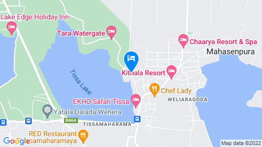 Yala Golden Park Map