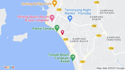 Malibest Resort Map