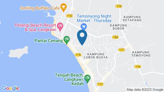 Travel Kumbang Langkawi Map