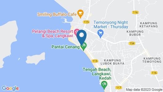 The Backyard Langkawi - Hostel Map