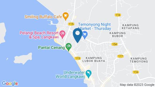 Rainbow Lodge Langkawi Map