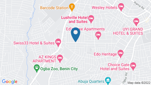 Protea Hotel by Marriott Benin City Select Emotan Map