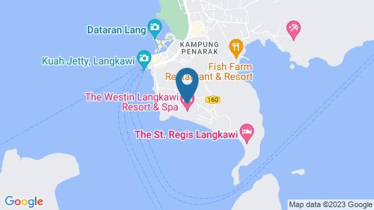 The Westin Langkawi Resort & Spa Map