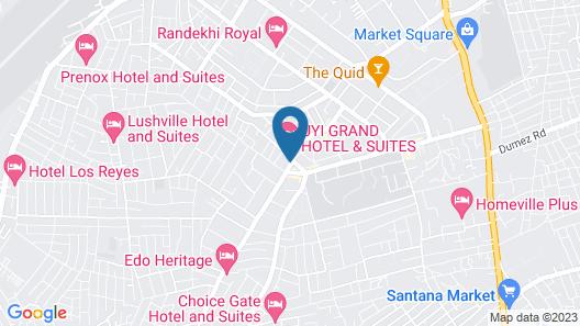 St. Regis Hotels & Resorts Map