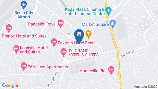 De Brit Hotel Map