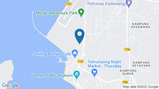 Temple Tree Resort Map