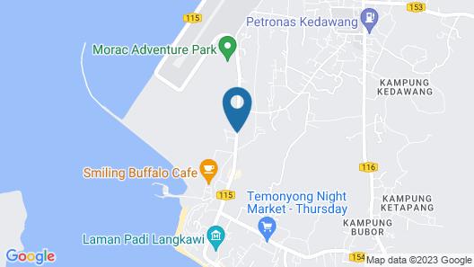 Bon Ton Resort Langkawi Map