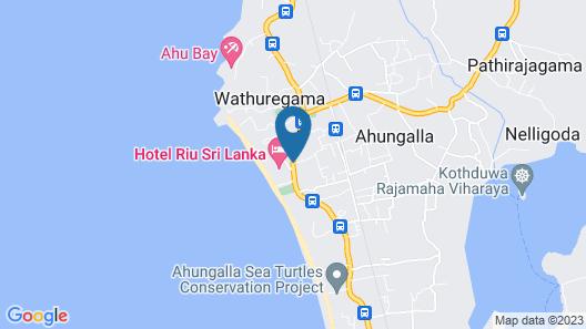 Hotel Riu Sri Lanka - All Inclusive Map