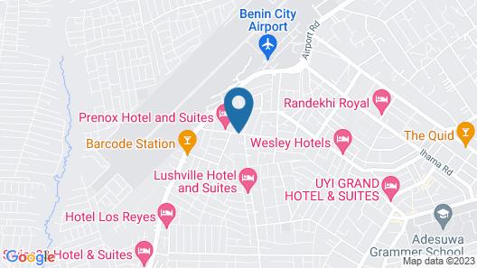 Prenox Hotel and Suites Map