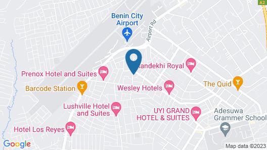 Duoban Hotel & Suite Map