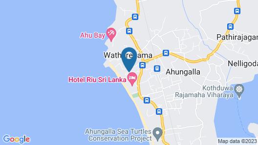 Heritance Ahungalla Map