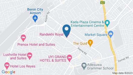 Randekhi Royal Hotel - Gold Wing Map