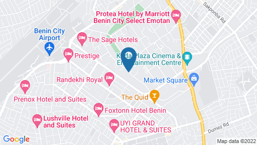 Eterno Hotels Limited Map