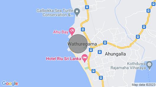 Nice holiday home near the beach Map