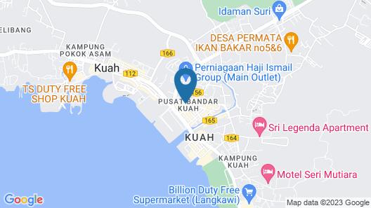 Bayview Hotel Langkawi Map