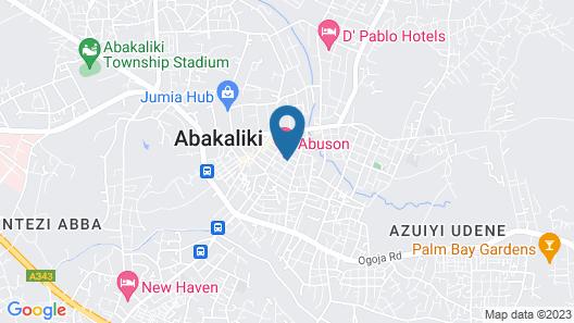 Abuson Hotels Map
