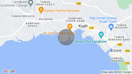 *THE ONLY SEA VIEW IN TOWN* Map