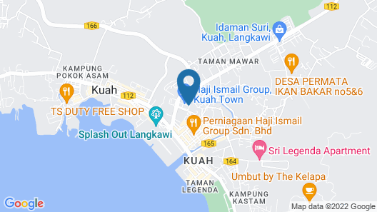 HIG Homestay Apartment Map