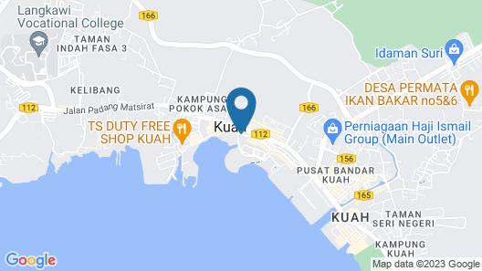 Dayang Bay Resort Langkawi Map